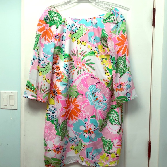 Lilly Pulitzer for Target Dresses & Skirts - Lily Pulitzer Target Nosey Posey caftan EUC sz M